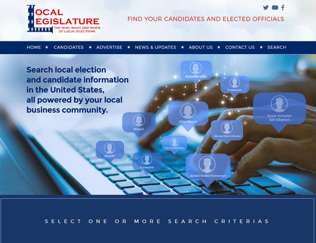 Web Design Political Campaigns