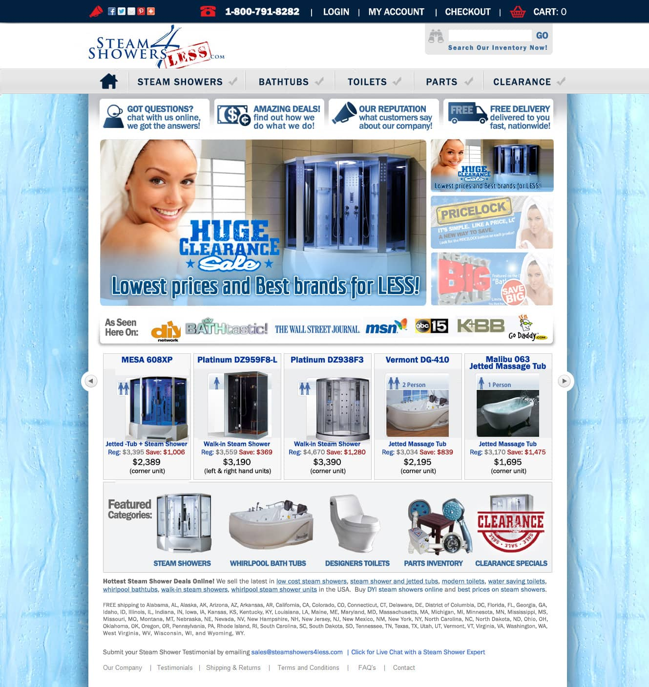 Ecommerce website design Richmond VA