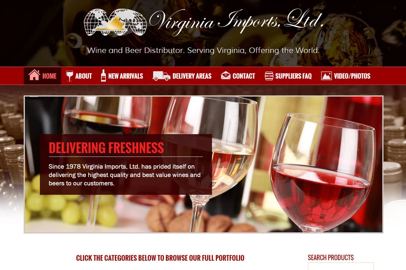 Web Design Farms, Food Suppliers, Food Importers