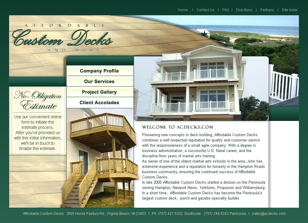 Home Remodeling Website Design Virginia Visionefx