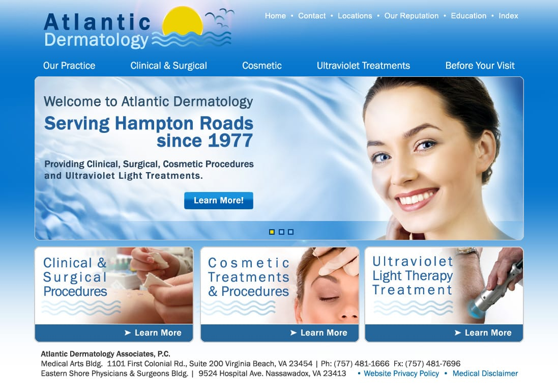 Website Design Medical Practice