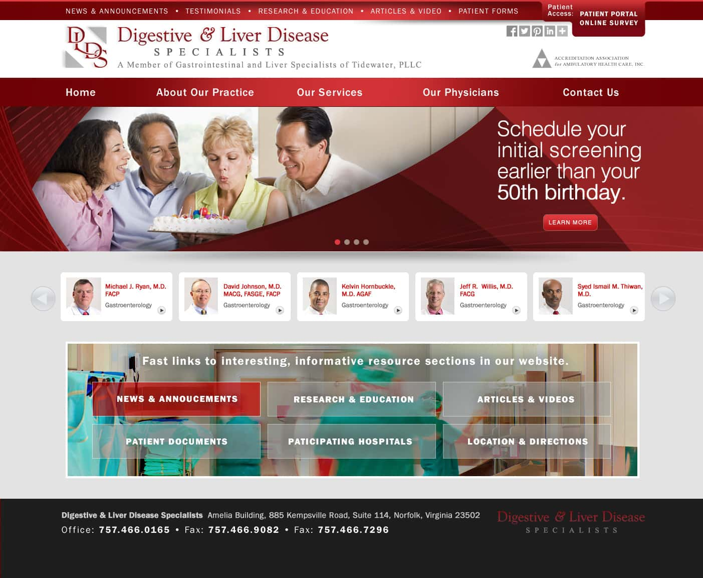 Web Design Medical Practice