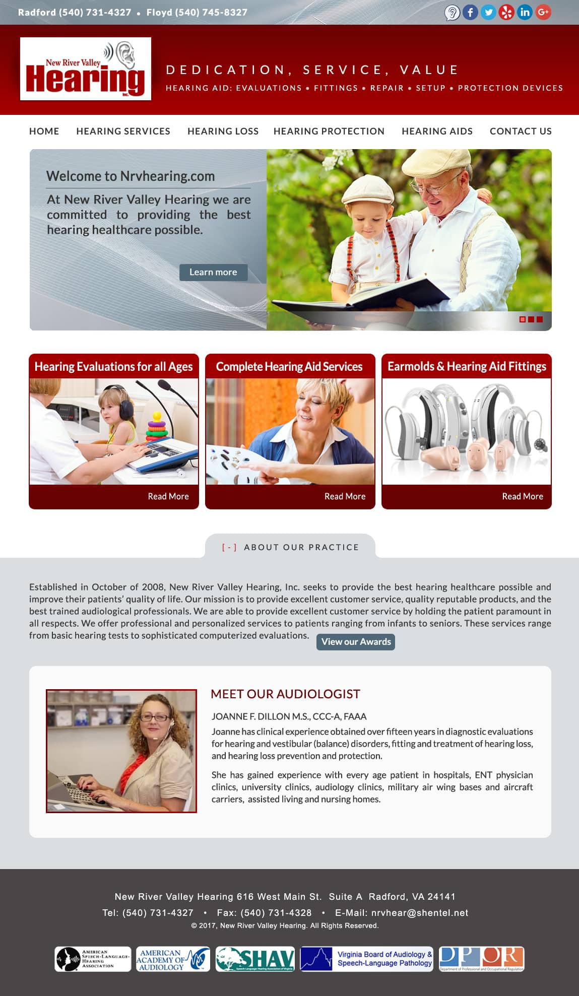 Medical Practice Web Design