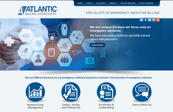 Website design Medical Businesses