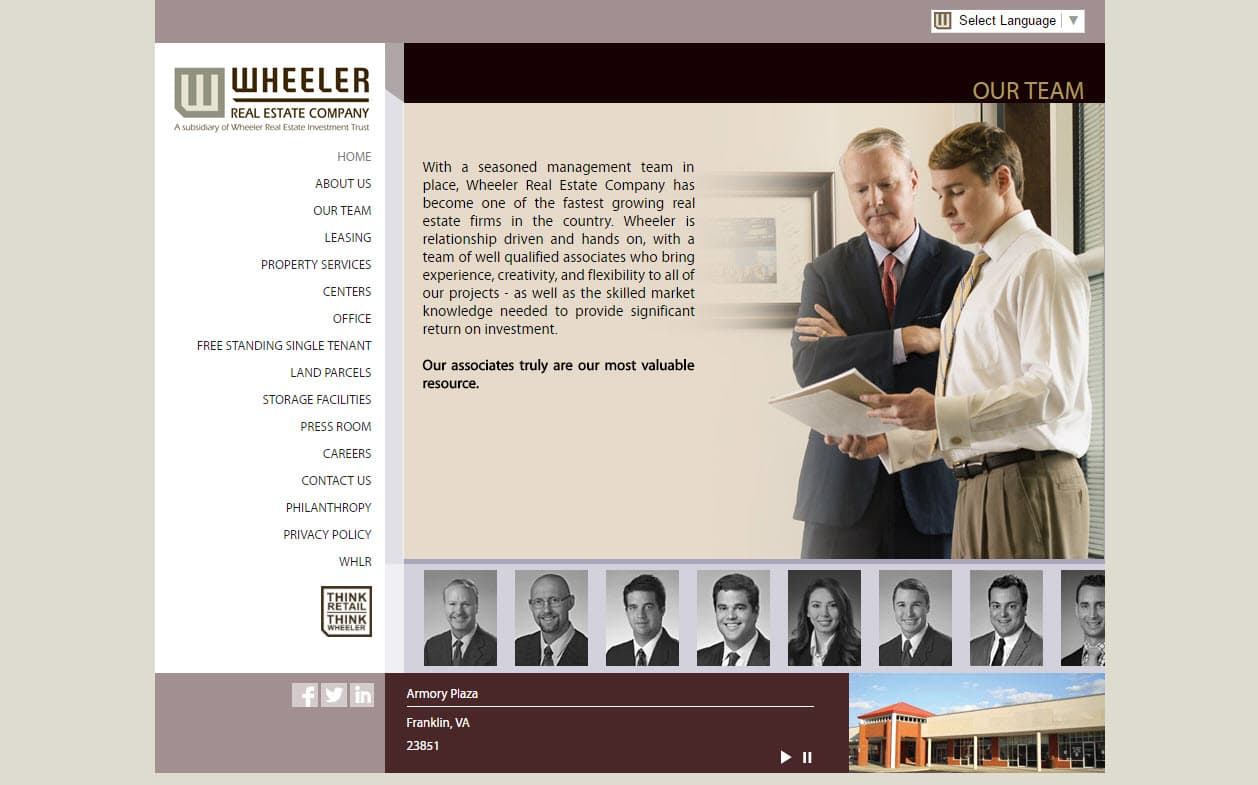 Website design Real Estate companies in Virginia