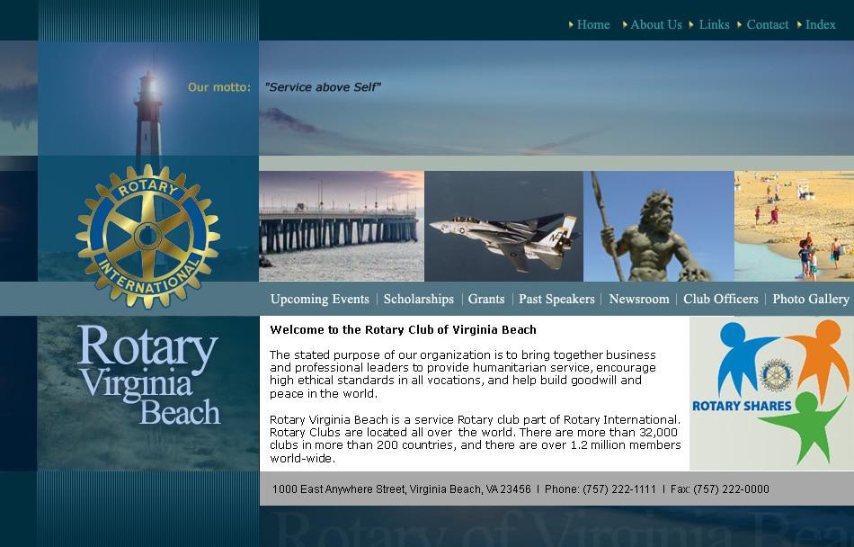 Website design ROTARY Clubs