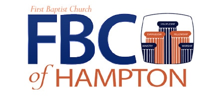 Hampton VA - First Baptist Church logo design