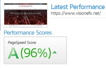 Test a websites speed with GTMetrix
