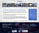 Roofing Construction Website Design