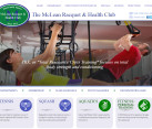 Website Design Health Clubs