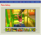Website Design for Arcades Playgrounds Cafes