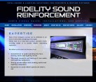 Fidelity Sound Reinforcement
