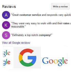 Google Reviews for your business | VISIONEFX WEB DESIGN VA