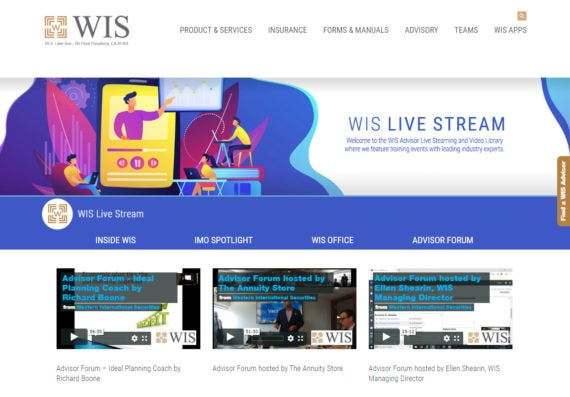 Live Stream Vimeo You Tube Banner Web Design