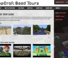 Web Design Development for Mine Craft