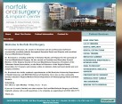 Oral Surgeon Website Design