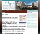 Oral Surgeon Website Design Dr. Krochmal