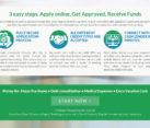 Online Cash Loan Lending Website Design