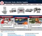 Website Design Scale Butcher Supply Business