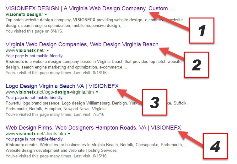 Title Tag Branding, Website SEO Methods