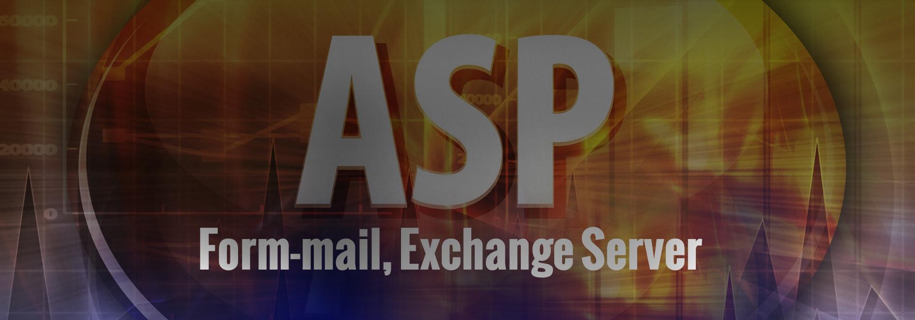 ASP Mail Form Exchange Server