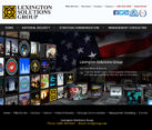 Government Security Consultant Website Design