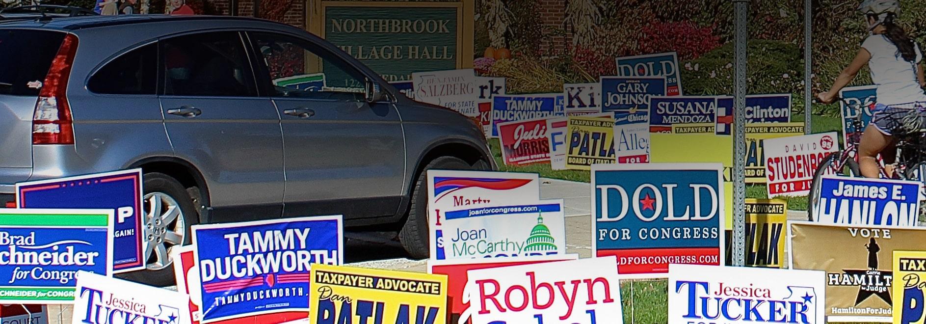 WEBSITE DESIGN POLITICAL CAMPAIGNS