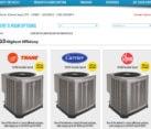 Web Design for HVAC business