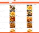 Fast foodWebsite design