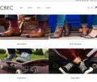 Ecommerce Website Design Shoe Sales